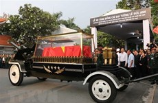 Former President Le Duc Anh remembered abroad