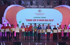Hanoi Red Cross launches humanitarian month