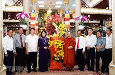 Vice President praises Vietnamese Buddhism for contribution to national construction