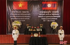 Remains of Vietnamese volunteer soldiers, experts repatriated from Laos