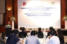 Workshop seeks priorities for Vietnam's ASEAN chairmanship term