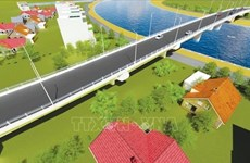 Work starts on bridge connecting Hai Phong to Thai Binh