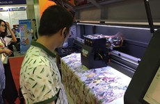 Screen, digital printing tech expo opens in HCM City