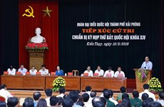 Hai Phong voters concerned about problems facing national economy