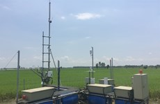 Station to monitor greenhouse gas emissions set up