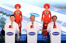 Work starts on high-tech vegetable processing plant in Hai Phong