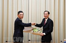 HCM City, Shanghai look to further cooperation