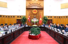 Vietnamese, Nepalese Prime Ministers hold talks