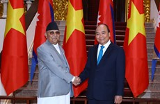 Vietnam, Nepal issue joint statement