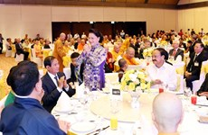 NA leader hosts banquet in hounour of delegates to UN Day of Vesak