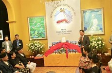 Nepali PM witnesses release of book on peace and Buddhism