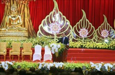 Official hosts Buddhism delegations from China, Laos, Cambodia, Thailand