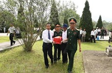 Remains of 18 Vietnamese martyrs reburied in Thanh Hoa