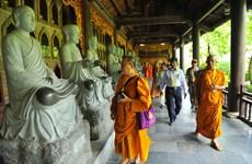 Vesak celebration participants visit Ninh Binh province