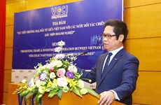 Strategic partners crucial to Vietnam's economy: VCCI chairman