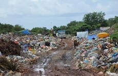 Seminar talks solid waste management in Southeast Asia