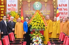 Vesak 2019 helps to promote Vietnam's image: NA Chairwoman