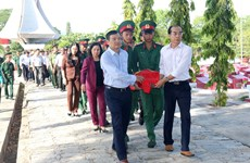 Remains of seven martyrs reburied in Binh Thuan
