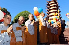 Lord Buddha's 2563rd birthday celebrated in HCM City