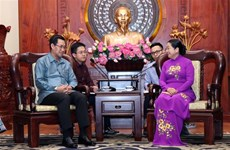 HCM City facilitates youth cooperation with Laos