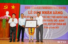 """""""Ro Bam"""" theatre art recognised as intangible cultural heritage"""