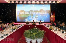 Role of Vietnamese, Lao media in tourism development discussed