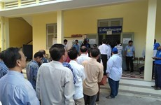 Local council elections held in Cambodia