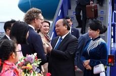 Prime Minister starts official visit to Sweden
