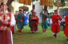 Traditional celebration of Doan Ngo festival reproduced in Hanoi