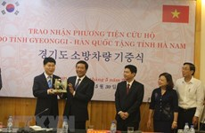 Ha Nam, Gyeonggi provinces discuss ways to boost ties