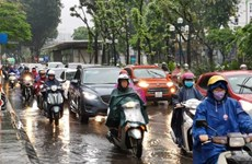 Heavy rain, flash floods forecast to continue over weekend