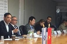Workshop promotes Vietnam-Israel trade cooperation
