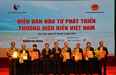 14 deals signed at forum on developing Vietnam sea brands in Bac Lieu