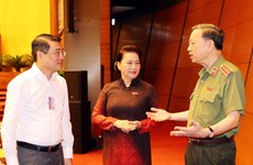 Public security minister first to field questions by NA deputies