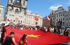 Vietnamese community represented at multiethnic festival in Czech Republic
