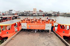 RoK firm-funded campaign helps clean Mekong River