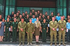 Vietnam, Australia boost peacekeeping cooperation