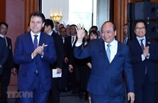 Vietnamese, Italian PMs co-chair Italy-ASEAN economic relations dialogue