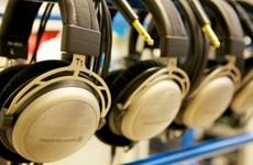Electronic headphone factory built in Binh Duong
