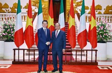 Italian Prime Minister concludes Vietnam visit