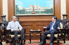 Indian Ambassador bids farewell to HCM City leader