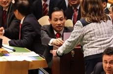 UN General Assembly casts votes for UNSC non-permanent seats