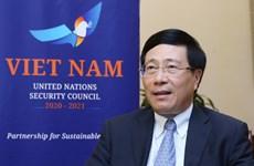 Vietnam pursues multilateralism, consensus at UNSC: Deputy PM