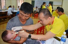 Children receive free correction of facial deformity, gifts