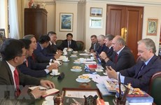 Party official's Russia visit boosts bilateral ties