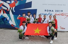 Taekwondo athletes secure medals at World Grand Prix in Italy