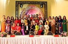 Second Ao dai pageant for diplomats' spouses in May 2020