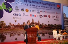 16th Asia Media Summit opens in Cambodia