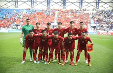 Vietnam's football prepares for 2022 WC qualifiers, SEA Games 30