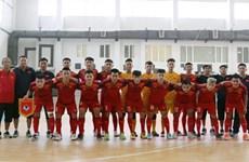Vietnam's U20 futsal team beat Mes Sungun of Iran in friendly match